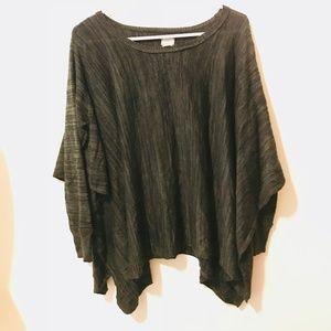 Converse One Star Sweater Poncho Loose 393